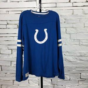 Reebok Indianapolis Colts LS Tee Shirt 1937